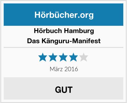 Hörbuch Hamburg Das Känguru-Manifest Test