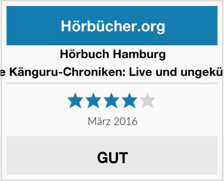 Hörbuch Hamburg Die Känguru-Chroniken: Live und ungekürzt Test