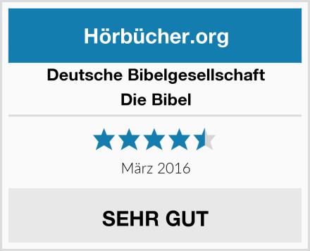 Deutsche Bibelgesellschaft Die Bibel Test