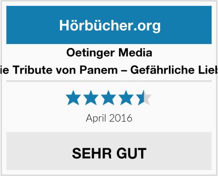 Oetinger Media Die Tribute von Panem – Gefährliche Liebe Test