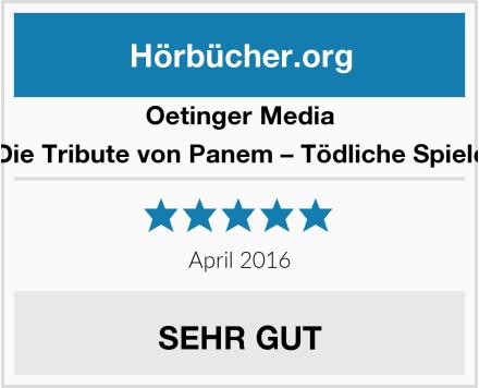 Oetinger Media Die Tribute von Panem – Tödliche Spiele Test