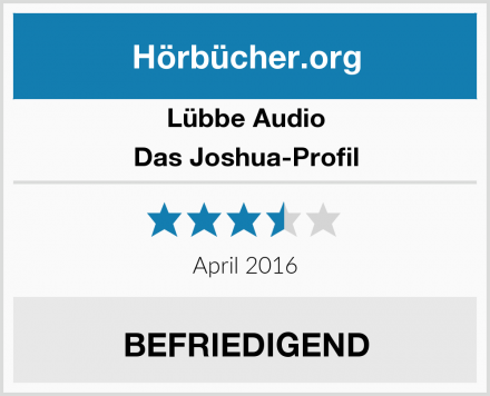Lübbe Audio Das Joshua-Profil Test