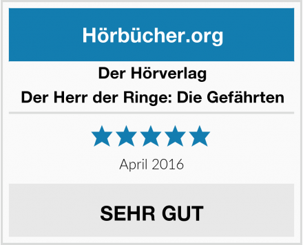 Der Hörverlag Der Herr der Ringe: Die Gefährten Test