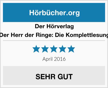Der Hörverlag Der Herr der Ringe: Die Komplettlesung Test