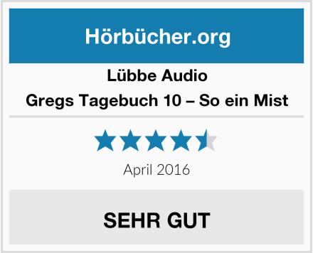 Lübbe Audio Gregs Tagebuch 10 – So ein Mist Test