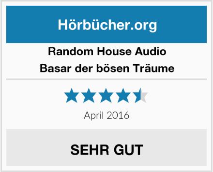 Random House Audio Basar der bösen Träume Test