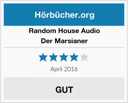 Random House Audio Der Marsianer Test