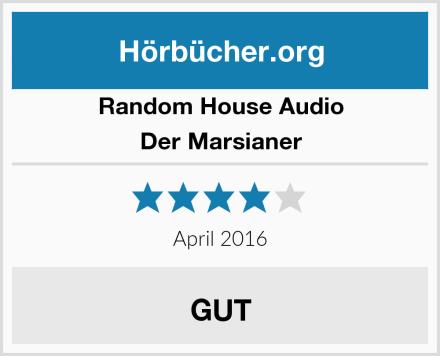 Random House Audio Der Marsianer Test