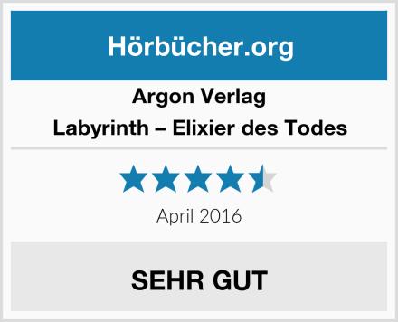 Argon Verlag Labyrinth – Elixier des Todes Test