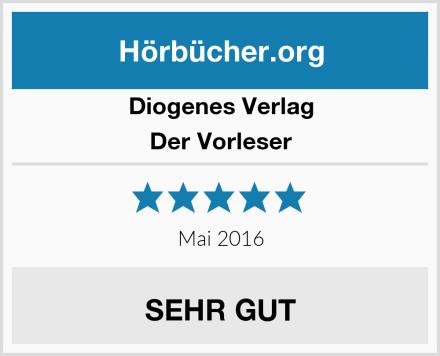 Diogenes Verlag Der Vorleser Test