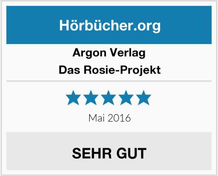 Argon Verlag Das Rosie-Projekt Test