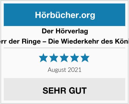 Der Hörverlag Herr der Ringe – Die Wiederkehr des Königs Test