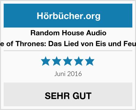 Random House Audio Game of Thrones: Das Lied von Eis und Feuer 01 Test