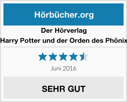 Der Hörverlag Harry Potter und der Orden des Phönix Test