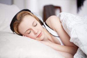 Hörbuch als Einschlafhilfe